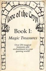 Lore of the Crypt #1 - Magic Treasures