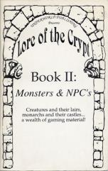 Lore of the Crypt #2 - Monsters & NPC's
