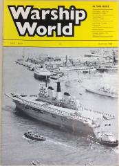 "Vol. 1, #4 ""First Report - HMS Ark, Naval Weapons Systems - Limbo, Ship Profile - S Class Submarines"""