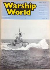 "Vol. 1, #8 ""Ship Profile - HMS Brave, Execise RIMPAC 86, Naval Weapon Systems 76mm OTO Melera"""