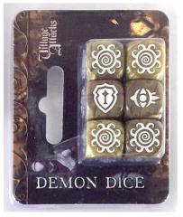 Dice Set - Demon (6)