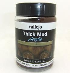 Thick Mud - Brown