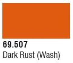Dark Rust Wash (17mL)