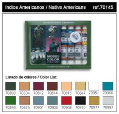 Model Color Native American Set