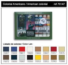 Model Color American Colonial Set