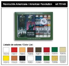 Model Color American Revolution Set
