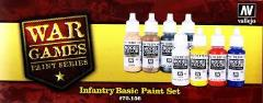 War Games - Infantry Basic Paint Set
