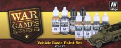 War Games - Vehicle Basic Paint Set