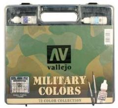 Military Color Box Set (72 Paints)