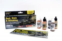 Rust, Stain, & Streaking Paint Set