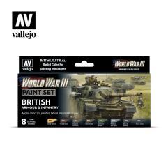 British Armor & Infantry