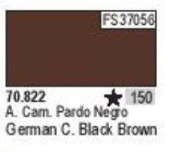 German Camo Black Brown