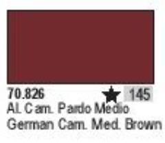 German Camo Medium Brown