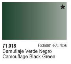 Camouflage Black Green