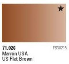 US Flat Brown