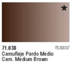 Camouflage Medium Brown
