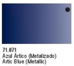 Metallic Arctic Blue
