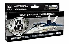 Air War - US Navy & USMC Colors From 70's To Present
