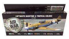 Luftwaffe Maritime and Tropical Colors Set