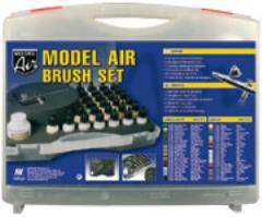 Airbrush Set - Basic Colors, 31 Piece Set