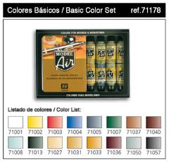 Basic Color Set - 16 Piece Set