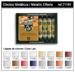 Metallic Effects Set