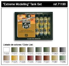 Extreme Modeling Tank Set
