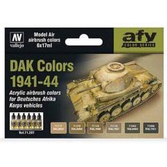 AFV Color Series - DAK Colors 1941-44
