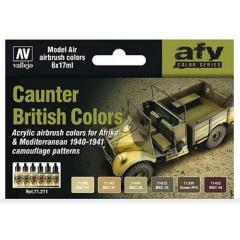 AFV Color Series - Caunter British Colors