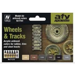 AFV Color Series - Wheels & Tracks