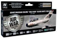 Soviet/Russian Colors - Cold War Silver Darts