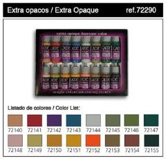 Extra Opaque Set - 16 Colors