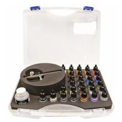 Game Air Set - Basic Game Air Colors (28) & Airbrush Set