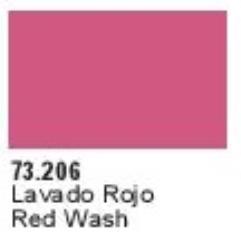 Red Shade Wash