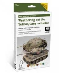 Weathering Set for Yellow/Grey Vehicles