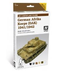 AFV System Camouflage - German Afrika Korps 1941-1942