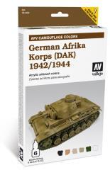 AFV System Camouflage - German Afrika Korps 1942-1944