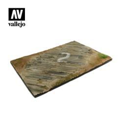 "12"" x 8.25"" Wooden Airfield Surface"