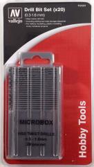 Microbox Drill Bit Set 0.3 to 1.6mm (20)
