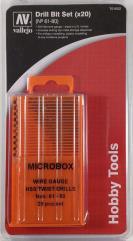 Microbox Drill Bit Set #61-80 (20)