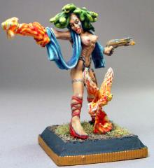 Fire Witch, The - Gorgon Sorcerer