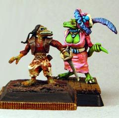 Scrote and Mulva - Kobold Pirate and Wench