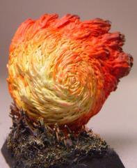 Flaming Sphere