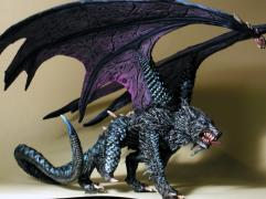 Malryte - Half Dragon Dire Wolf (Resin)