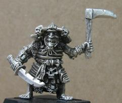 Goblin Warmonger w/Sword & Axe
