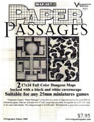 Map Set #1 - Paper Passages