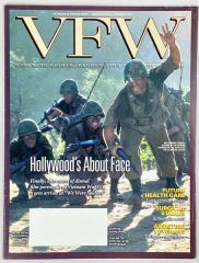 "Vol. 89, #6 ""Hollywood Gets Vietnam Right This Time, VFW Service Officers Make the Difference, War on Terrorism - 101st Airborne Replaces Marines in Afghanistan"""
