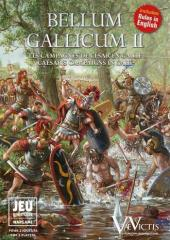 Bellum Gallicum II - Caesar's Campaigns in Gaul (Bilingual French & English Edition)