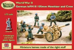 German leFH18 105mm Howitzer & Crew