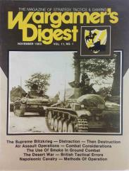 """Vol. 11, #1 """"The Supreme Blitzkrieg, Air Assault Operations, The Desert War - British Tactical Errors"""""""